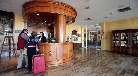 Recepción Hotel ELE Cañada Real Plasencia