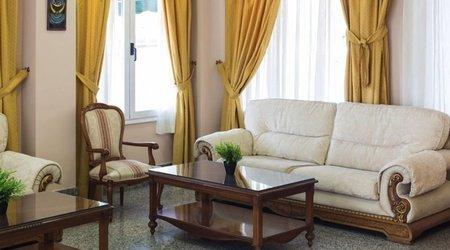Sala de estar Hotel Complejo ELE Real de Castilla